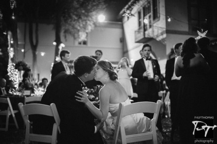 Romance and a kiss