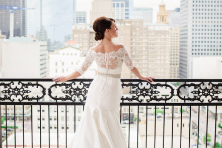 Bride at Hotel Icon - Penthouse Suite