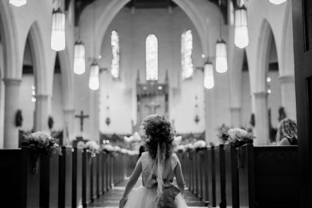 Holy Rosary, Houston, Wedding photographer Philip Thomas
